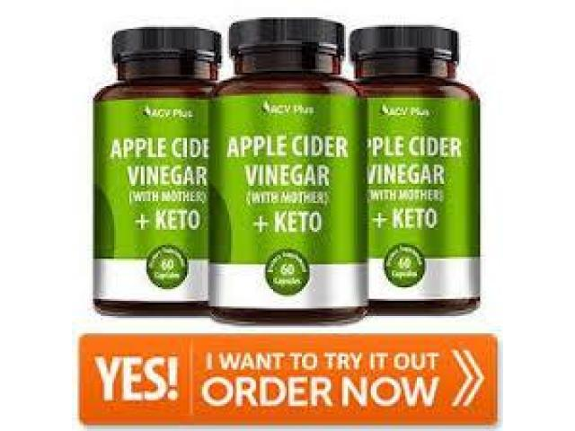 Presentation Of ACV Plus Keto.